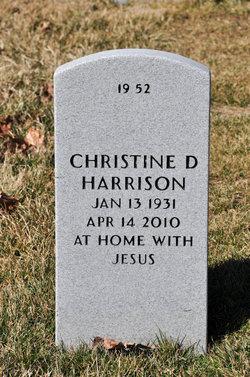 Christine D. Harrison