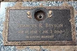 Frances R <i>Phillips</i> Bryson