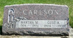 Martha M. <i>Olson</i> Carlson
