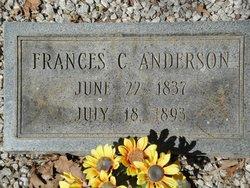 Sarah Frances <i>Cagle</i> Anderson