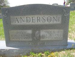Viola Dixie <i>Benge</i> Anderson