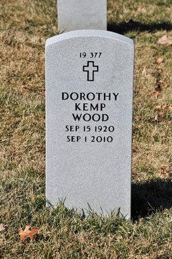 Dorothy <i>Kemp</i> Wood