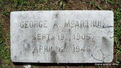 George Alexander McArthur