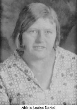 Abbie Louise Irene <i>Daniel</i> Fore