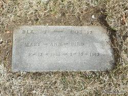 Mary Ann <i>Forquer</i> Bird