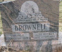 Elsie S <i>Freeman</i> Brownell