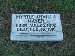 Myrtle Arvilla Mayer
