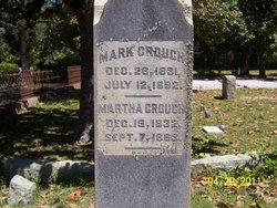 Martha Frances <i>Kemp</i> Crouch
