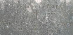 Mary Lloyd <i>Pendleton</i> Abney