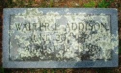 Walter L. Addison