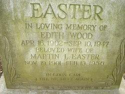 Edith <i>Wood</i> Easter