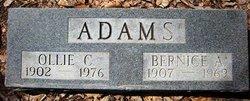 Bernice A <i>Mills</i> Adams