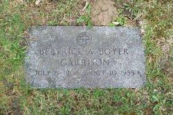 Beatrice A <i>Boyer</i> Garrison
