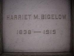 Harriet M Bigelow