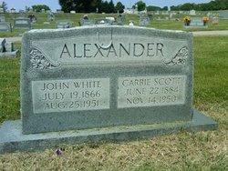 Carrie <i>Scott</i> Alexander