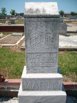 Mary Alice Martin
