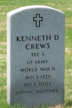 Kenneth D Crews
