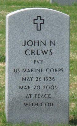 John N Crews
