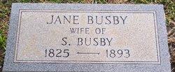Elizabeth Jane <i>McIlwain</i> Busby