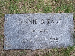 Fannie Bell <i>Page</i> Annis