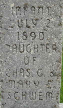 Infant Daughter Schwem
