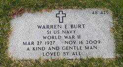 Warren Everett Burt
