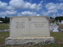 Ann Jane <i>Geiger</i> Boone