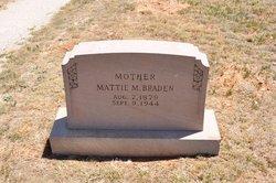 Mattie M. <i>Karnes</i> Braden