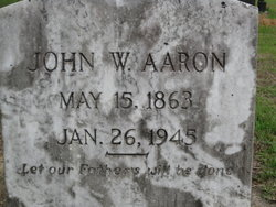J. W. Babe Aaron