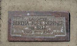 Bertha June <i>Bell</i> Deppner
