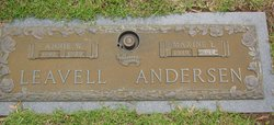 Maxine E. <i>Leavell</i> Davis Andersen
