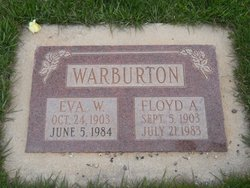Eva Lucretia <i>Wardell</i> Warburton