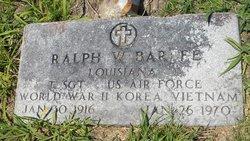 Ralph W Barbee
