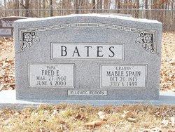 Fred E Bates