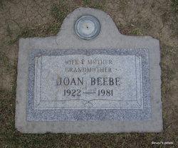 Joan <i>Crismon</i> Beebe