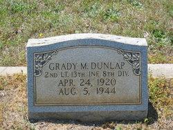 Lieut Grady Milford Dunlap
