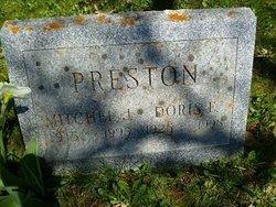 Mitchel J Preston