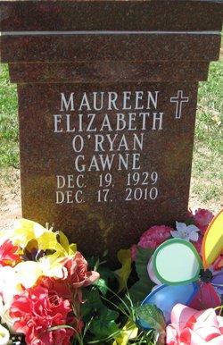 Maureen Elizabeth <i>Ryan</i> Gawne