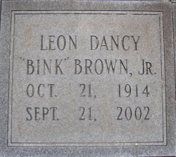 Leon Dancy Bink Brown, Jr