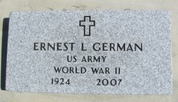 Ernest Lee German