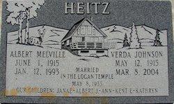 Verda <i>Johnson</i> Heitz