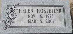 Helen <i>Bales - Acker</i> Hostetler