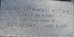 John Lowman McCaw