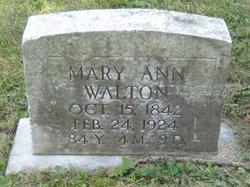 Mary Ann <i>Snyder</i> Walton