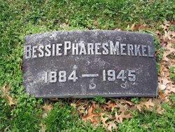 Bessie <i>Phares</i> Merkel