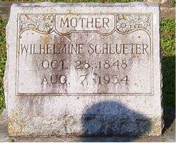 Wilhelmine Catrine Minna <i>Schweppe</i> Schlueter