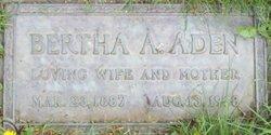 Bertha Anna <i>Beethe</i> Aden