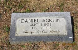 Daniel Acklin