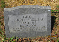 Father Lilbon C. Acklin, Sr