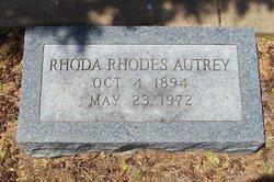 Rhoda <i>Rhodes</i> Autrey